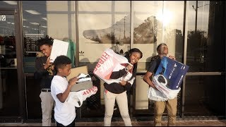 SURPRISED MARK JR WITH A PS4 FOR HIS BDAY & TOOK DEDE3X , BAM, MYA & JAY WITH NEW SHOE'S!!
