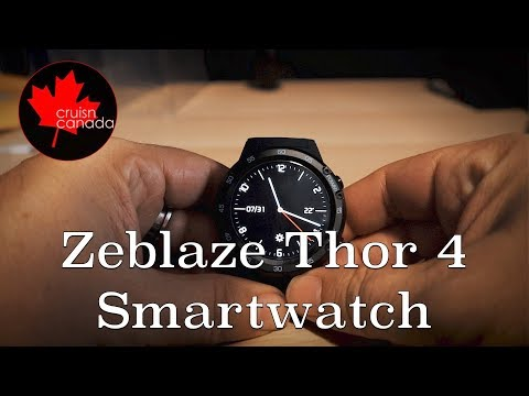 Zeblaze Thor 4 SmartWatch Unboxing and First Look