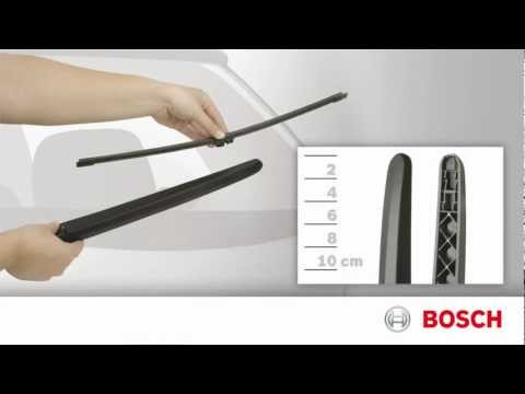 Bosch Wiper Blades - Rear Toplock Installation Video II-1-012