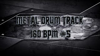 Aggressive American Metal Drum Track 160 BPM (HQ,HD) | Preset 2.0