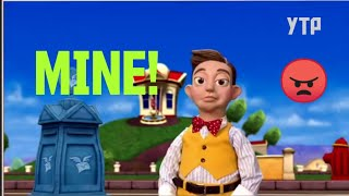 YTP (CLEAN) Stingy The Greedy 70's Kid. Lazy Town The  Mine Song