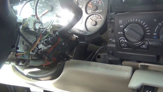 Releasing Chevy Suburban/Silverado Ignition lock cylinder, Key Won't Turn