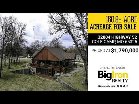160.8+/- Acres Benton County, MO