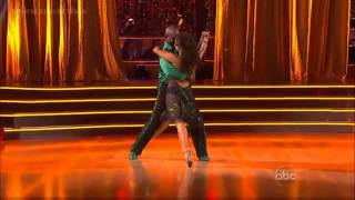 Emmitt Smith and Cheryl Cole - DTWS Allstars Week 1