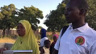 Retour des bénéficiaires des projets eau & assainissement de Gon-Boussougou