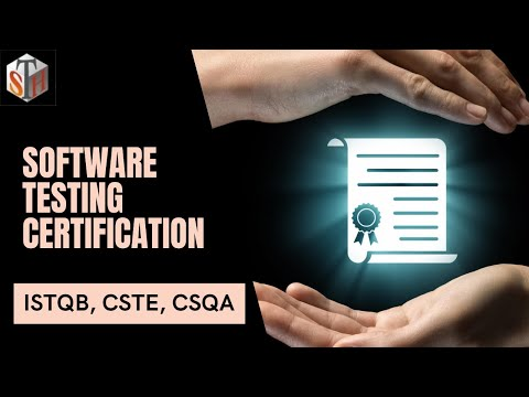 Software Testing Certification - ISTQB CSTE CSQA Testing ...