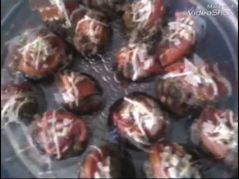 #Лучшая Закуска с баклажанами,фаршем,помидорами и сыром /Баклажаны в духовке, Запеченые с фаршем,сыр