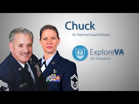 After private companies turned him down, Chuck was able to get VA life insurance.