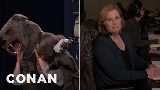 Checkin' In With Billie: Mauled By A Bear Edition - CONAN on TBS