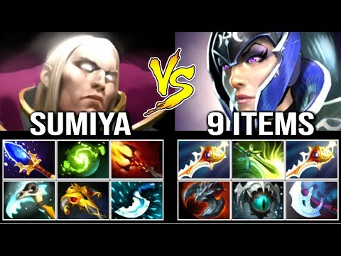 EPIC GAME! SumiYa Invoker God vs PRO Divine Rapier Luna Late Game Battle WTF Combo Comeback Dota 2