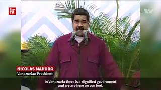 "Maduro to Trump: ""Get your dirty hands off Venezuela!"""