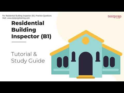 Residential Building Inspector (B1) Exam Tutorial - YouTube