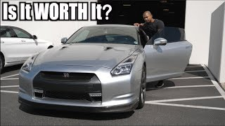 Buying a used 2009 NISSAN GTR for $890...