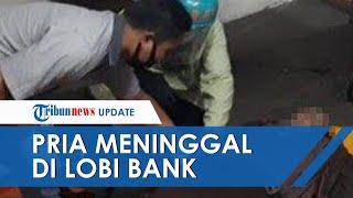Seorang Pria di Malang Mendadak Meninggal di Lobi Gedung Bank Swasta, Diduga Sakit Jantung