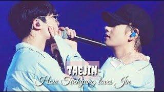 how Taehyung loves Jin   taejin/vjin 🌻