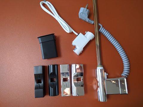Heatpol H+E - обзор ТЭНа для полотенцесушителя с таймером, терморегулятором и сменными накладками