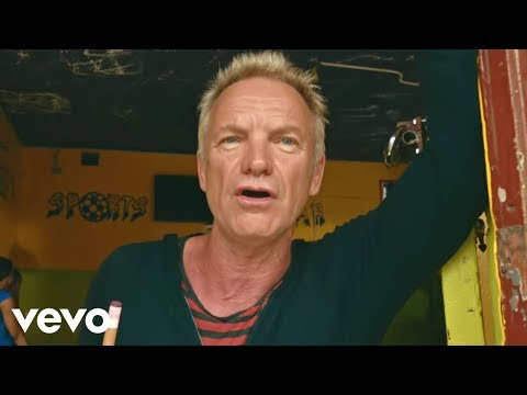Sting, Shaggy - Don't Make Me Wait (Official) online metal music video by STING