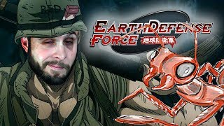 ALIEN ANT FARM - Earth Defense Force 4.1 Gameplay Part 5