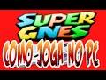 Como Jogar No Pc Emulador Zsnes Super Nintendo