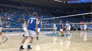 UCSB vs UCLA MVB Highlights (3/28/18)