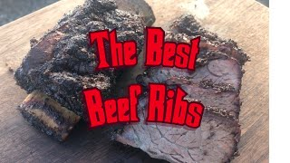 How To BBQ Beef Short Ribs On The Pit Barrel Cooker I Amazing Beef Ribs I Cooking Beef Ribs