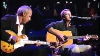 Eric Clapton & Mark Knopfler - Layla - Live (remastered) Widescreen with LyRiCs (english/deutsch)