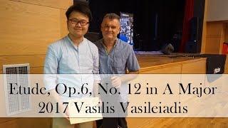 Fernando Sor: Etude, Op. 6 No. 12 in A major | 2017 Vasilis Vasileiadis
