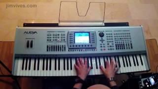 Jim Vives - #KetronAudya keyboard - #latinjazz #jazz #piano #gopro5