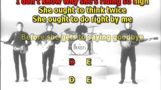 Ticket To Ride Beatles Mizo Vocals  Lyrics Chords Cover