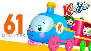Choo Choo Train   Plus Lots More Nursery Rhymes   61 Minutes Compilation from KiiYii!