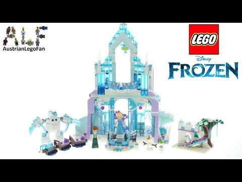 Vidéo LEGO Disney 43172 : Le palais des glaces magique d'Elsa