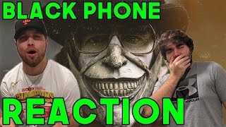 THE BLACK PHONE - TRAILER REACTION (WTF!!)