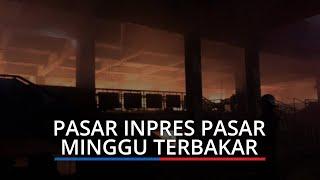 Kebakaran Pasar Inpres Pasar Minggu, 26 Unit Pemadam dan 116 Personel Damkar Dikerahkan
