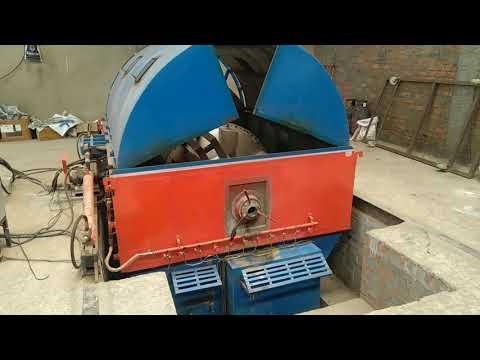 Close Oven Rotomoulding Machine