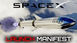 SpaceX Launch Manifest About To Rapidly Increase In Number | SpaceX in the News