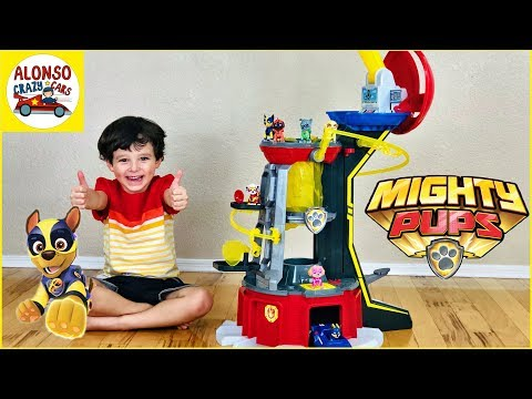 Download Paw Patrol Mighty Pups new Mighty Lookout Tower for kids Mp4 HD Video and MP3