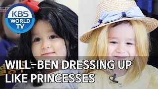 Will-Ben dressing up like princesses [The Return of Superman/2020.02.21]