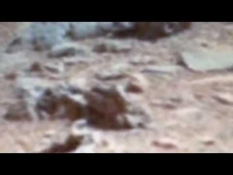 2014 Mars Anomalies Revealed – NASA- Curiosity Rover Pics Statue – Skulls – Past life
