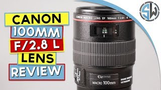 Canon 100mm f/2.8 L  IS USM Macro lens review with samples (APS-C)