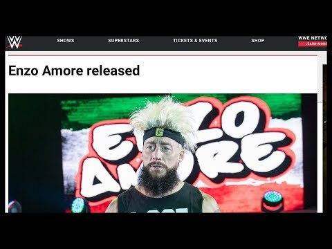 BREAKING NEWS: Enzo Amore Released by WWE