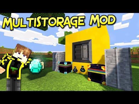 MultiStorage Mod | Protege Tus Recursos Más Valiosos | Minecraft 1.12.2 – 1.8.9 | Mod Review Español