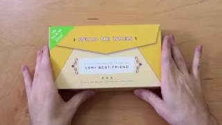 Letters to My Very Best Friend Read Me When Box Unboxing