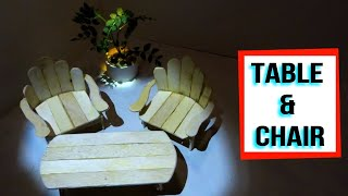 Ice Cream Sticks Chair ฟร ว ด โอออนไลน ด ท ว ออนไลน คล ป