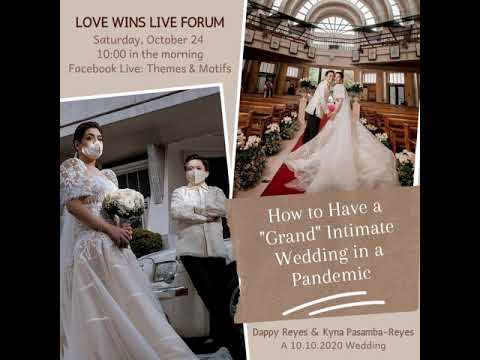 A Grand Pandemic Wedding