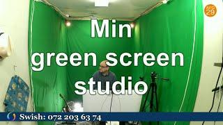 Min green screen studio