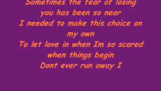 Air Supply - Taking The Chance (with lyrics) - HD