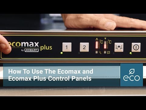 How To Use The Ecomax and Ecomax Plus Control Panels