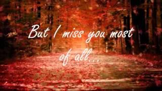 Autumn Leaves Nat King Cole (lyrics)
