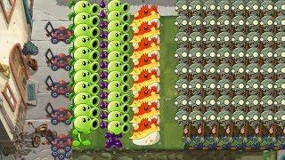 Plants vs Zombies 2 - Goo Peashooter, Toadstool and Peashooter