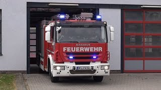 preview picture of video 'Löschzug Berufsfeuerwehr Delmenhorst'